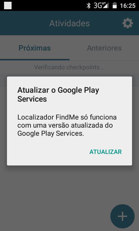 atualizar google play service