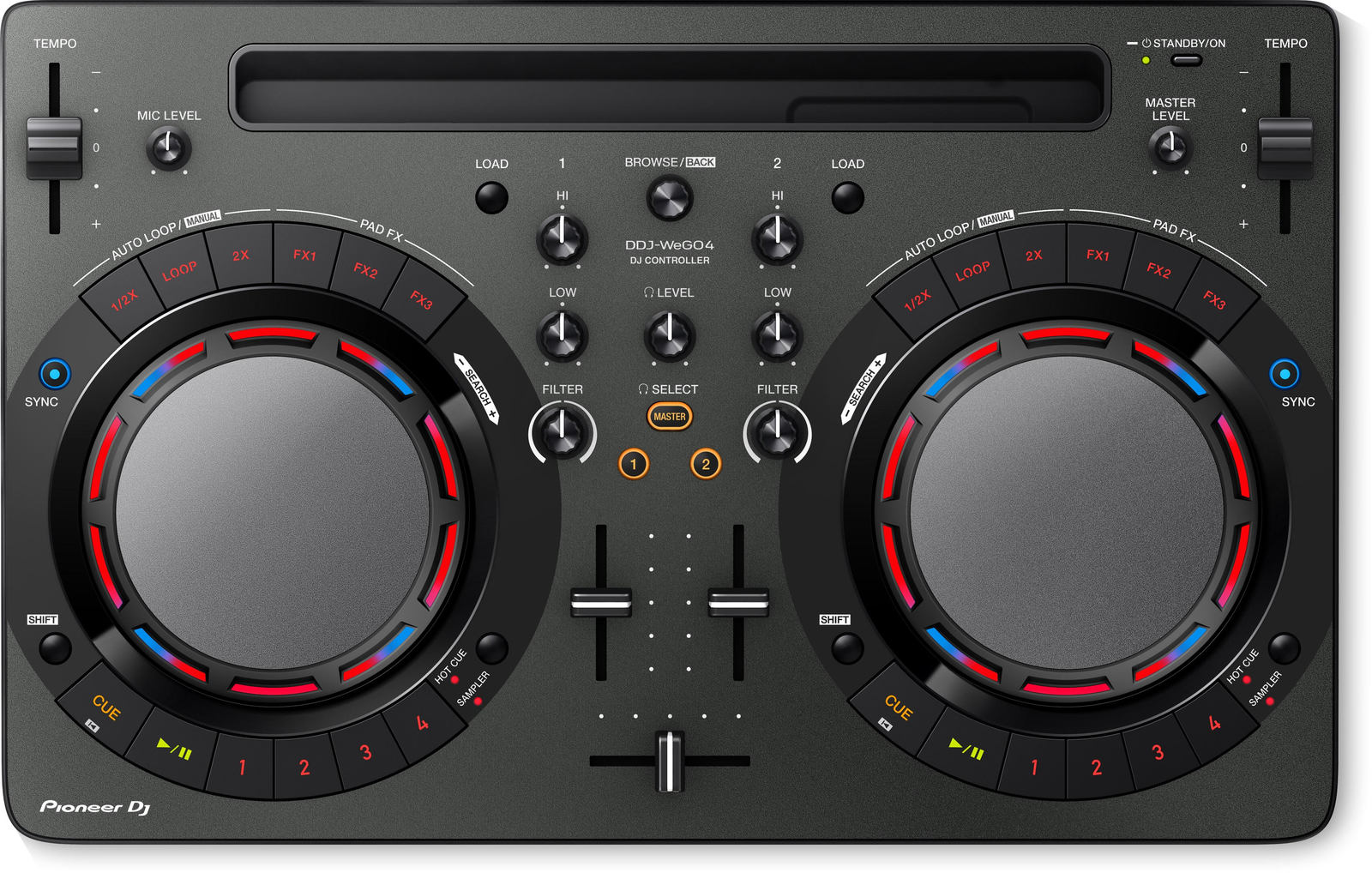 Pioneer WEGO4 DJ Controller (Black)