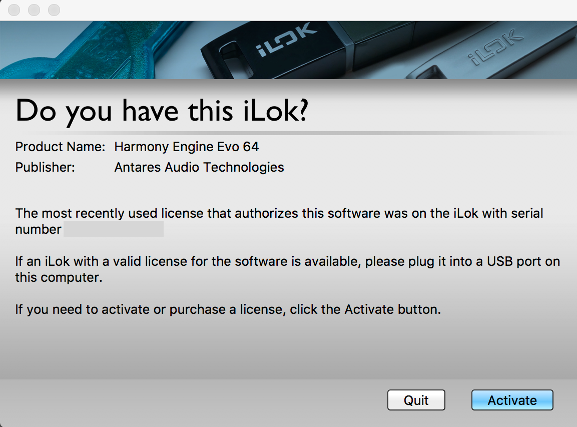 Do you have this iLok screen