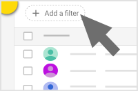 Find this option at the top of the user list
