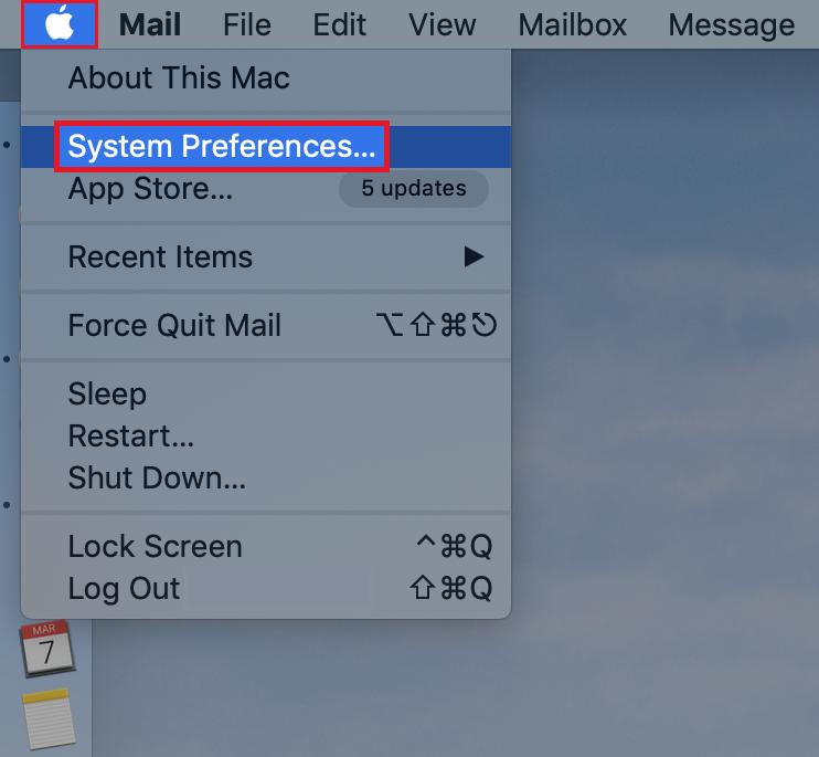 macOS - open System Preferences v2