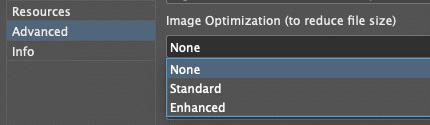 image optimization options