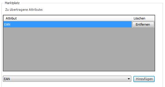 Das Bild zeigt in unicorn 2 das/die erste hinzugefügte Attribut/Eigenschaft im IndividualFeed.