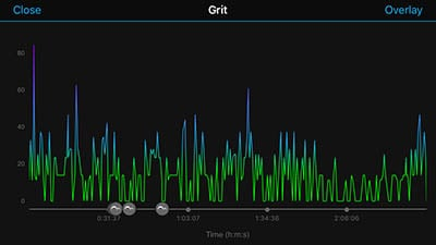 A screen displaying Grit
