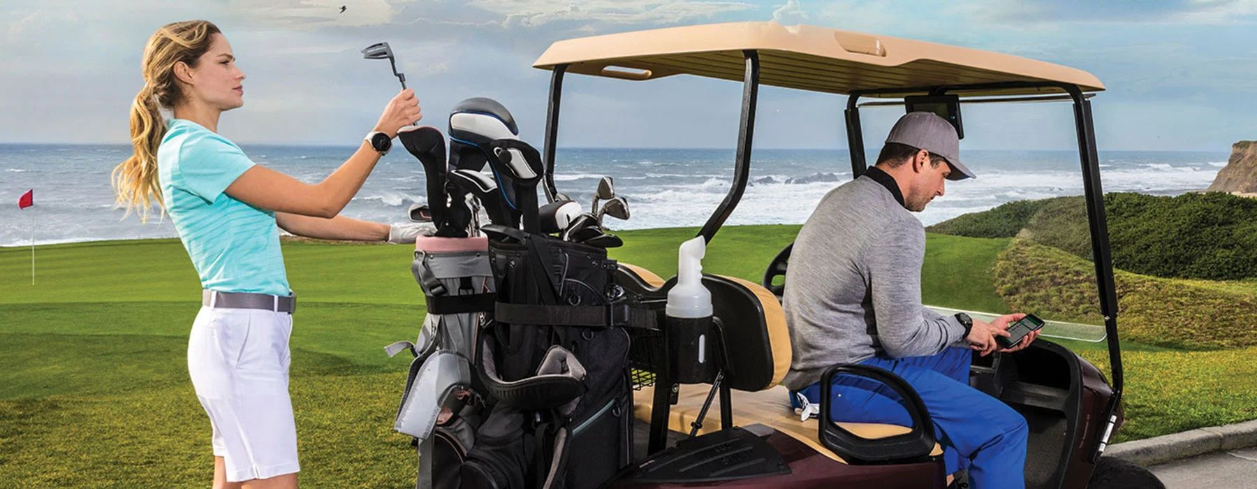 Приложение Garmin Golf