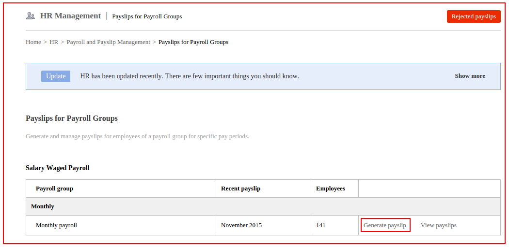 How an employees payslip is generated in Fedena 35 Fedena Pro – Monthly Pay Slip