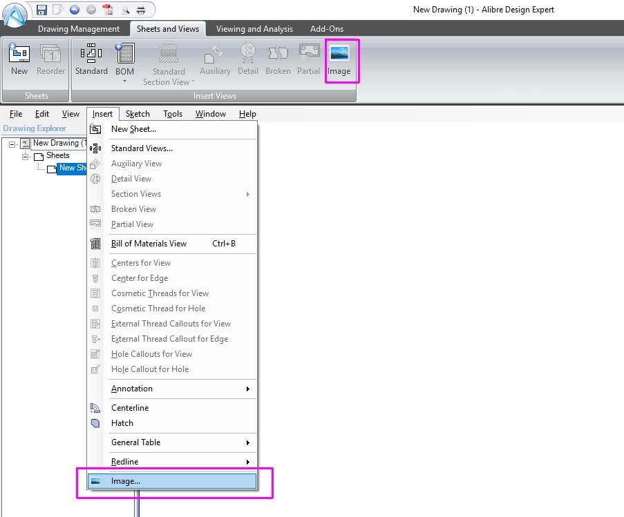 Creating Custom 2D Drawing Templates in Alibre Design