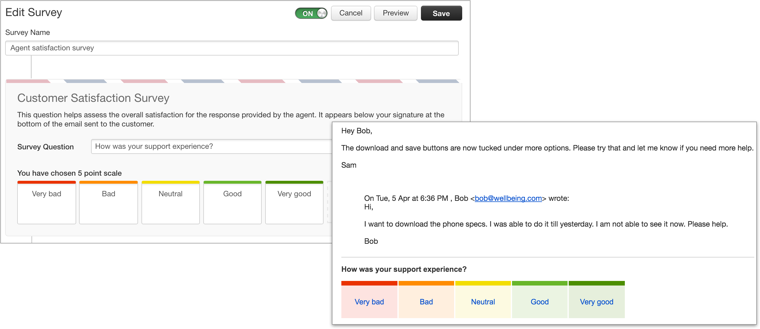 Once A Customer Takes The Survey, The Point Scale Will Be Locked Down And  The Survey Settings Cannot Be Edited. You Can, However, Rephrase The  Questions And ...