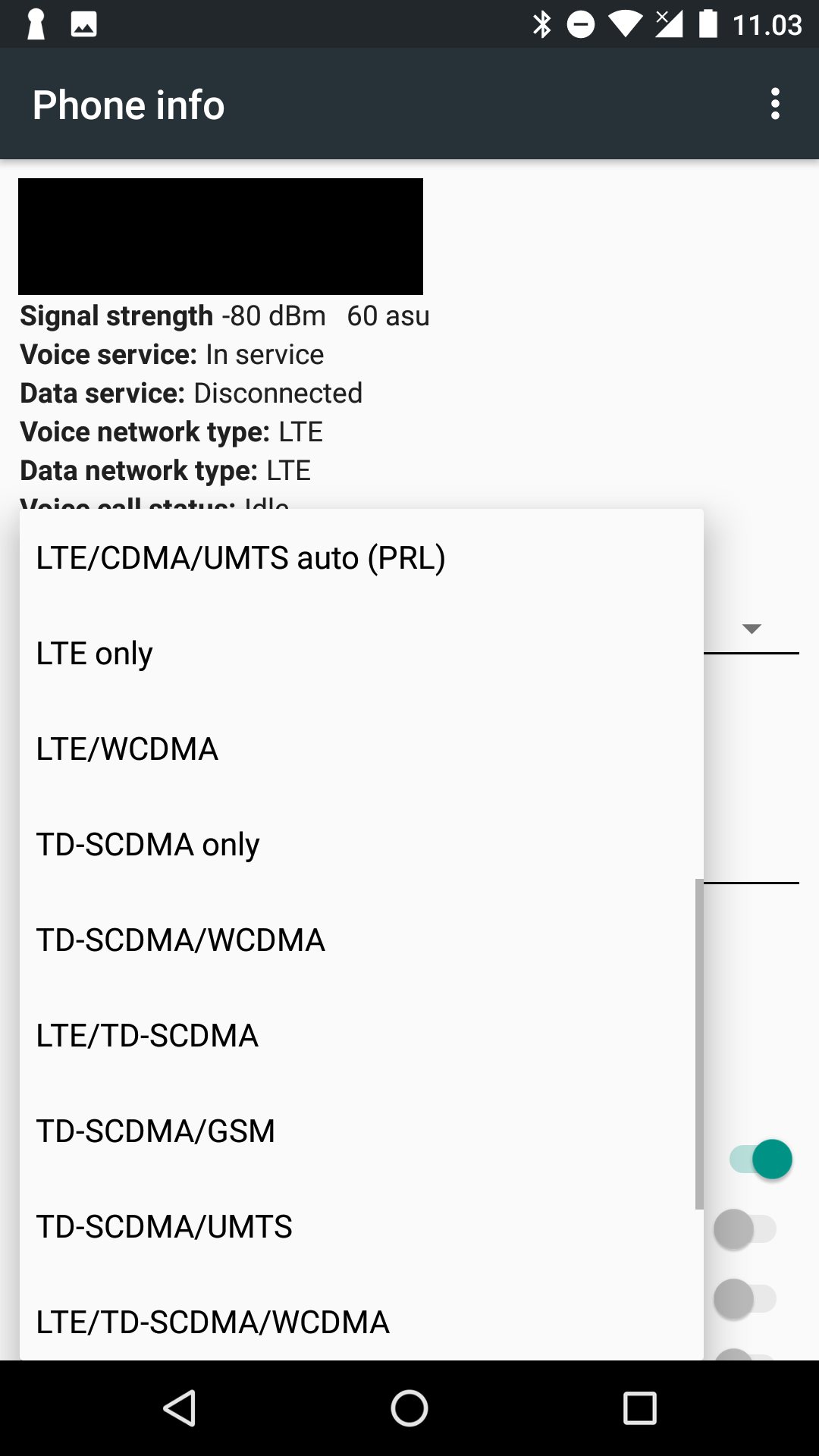 How to lock my phone to 2G/3G/4G? : Cellmapper