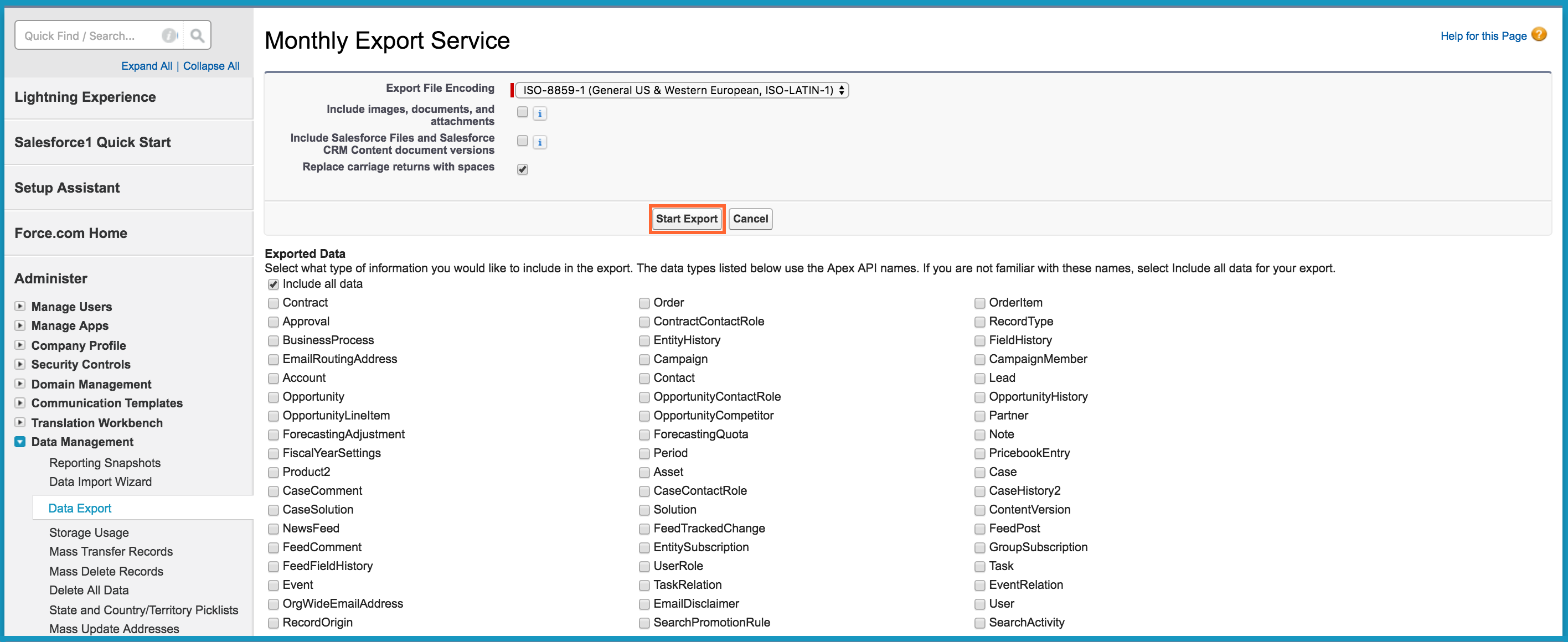 How to migrate data from Salesforce : Freshsales