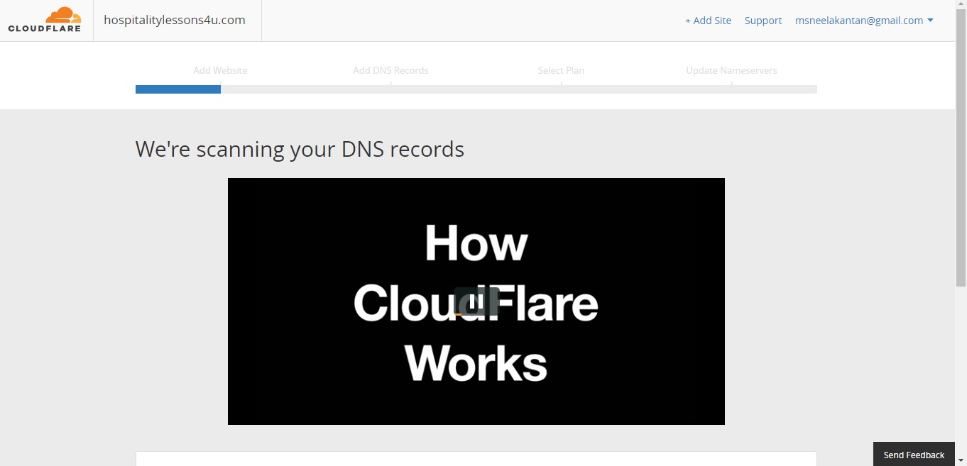 How to Sign Up for CloudFlare and Point Your IP Address to