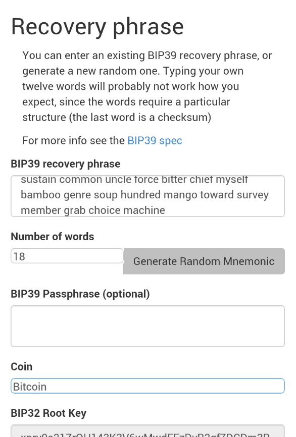 bitcoin private key generator
