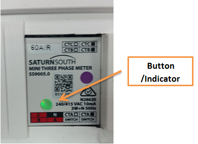 fuse box, press and hold down the indicator button for approximately  10+ seconds until the indicator button starts flashing (note: the indicator  button