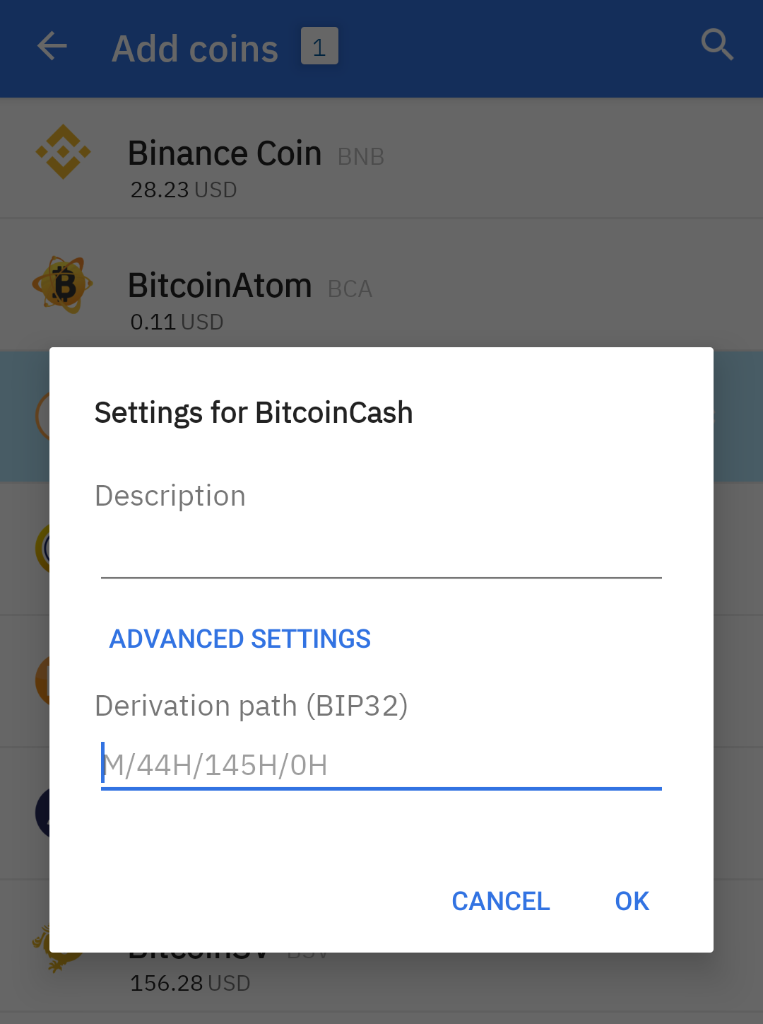 Claiming your forked coins : Coinomi Support