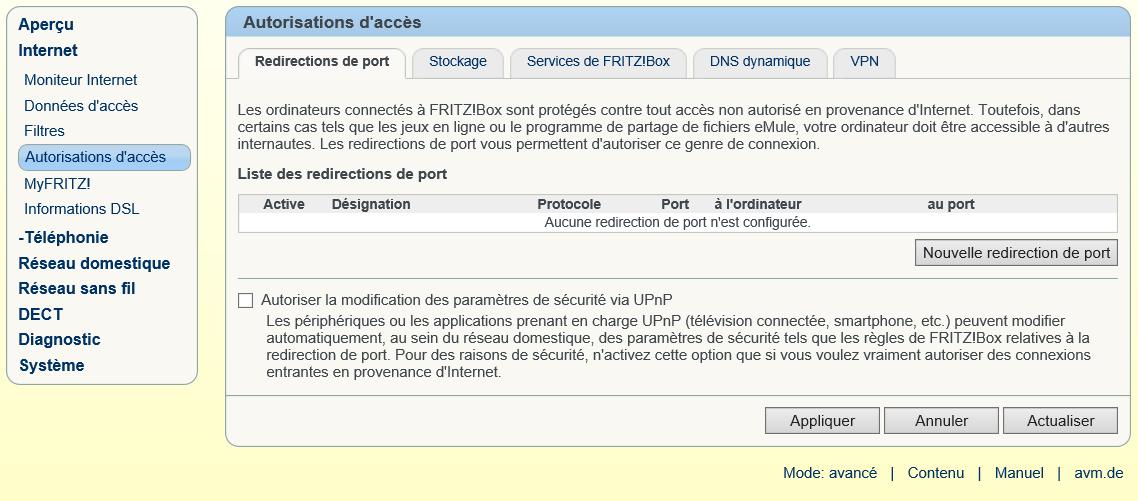 Comment configurer un exposed host sur mon FRITZ!Box