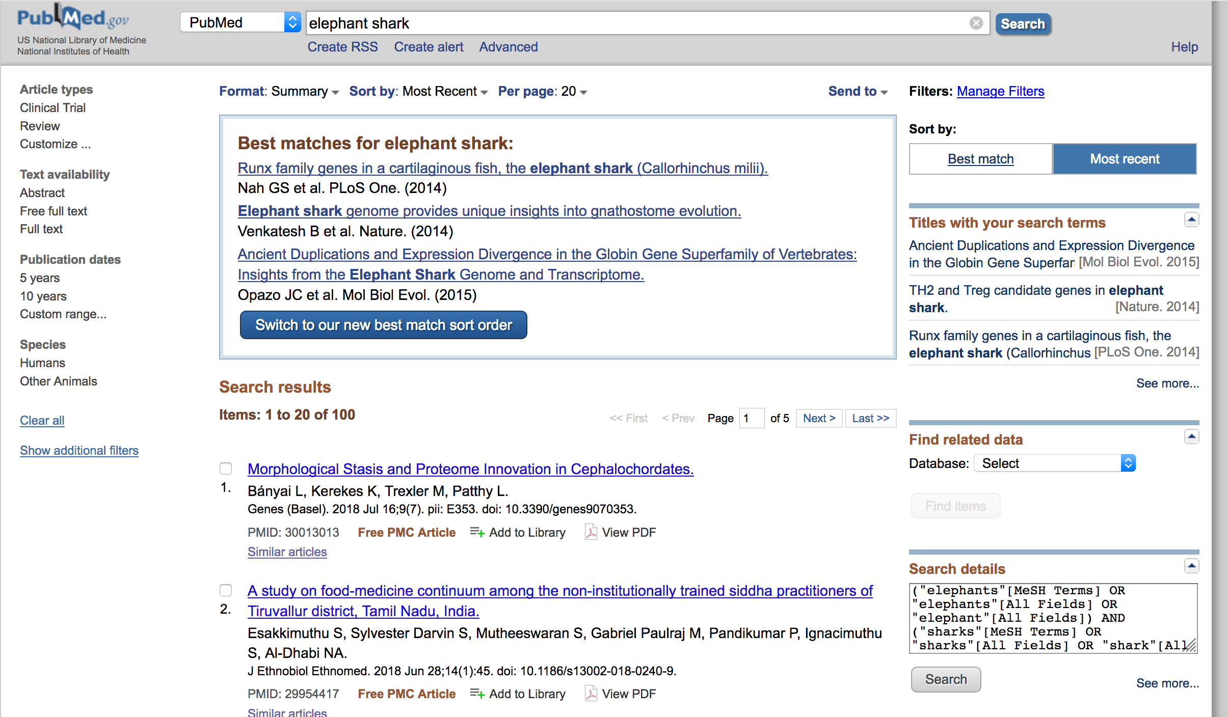 Screenshot of the ReadCube Papers Browser Extension on Firefox via Pubmed