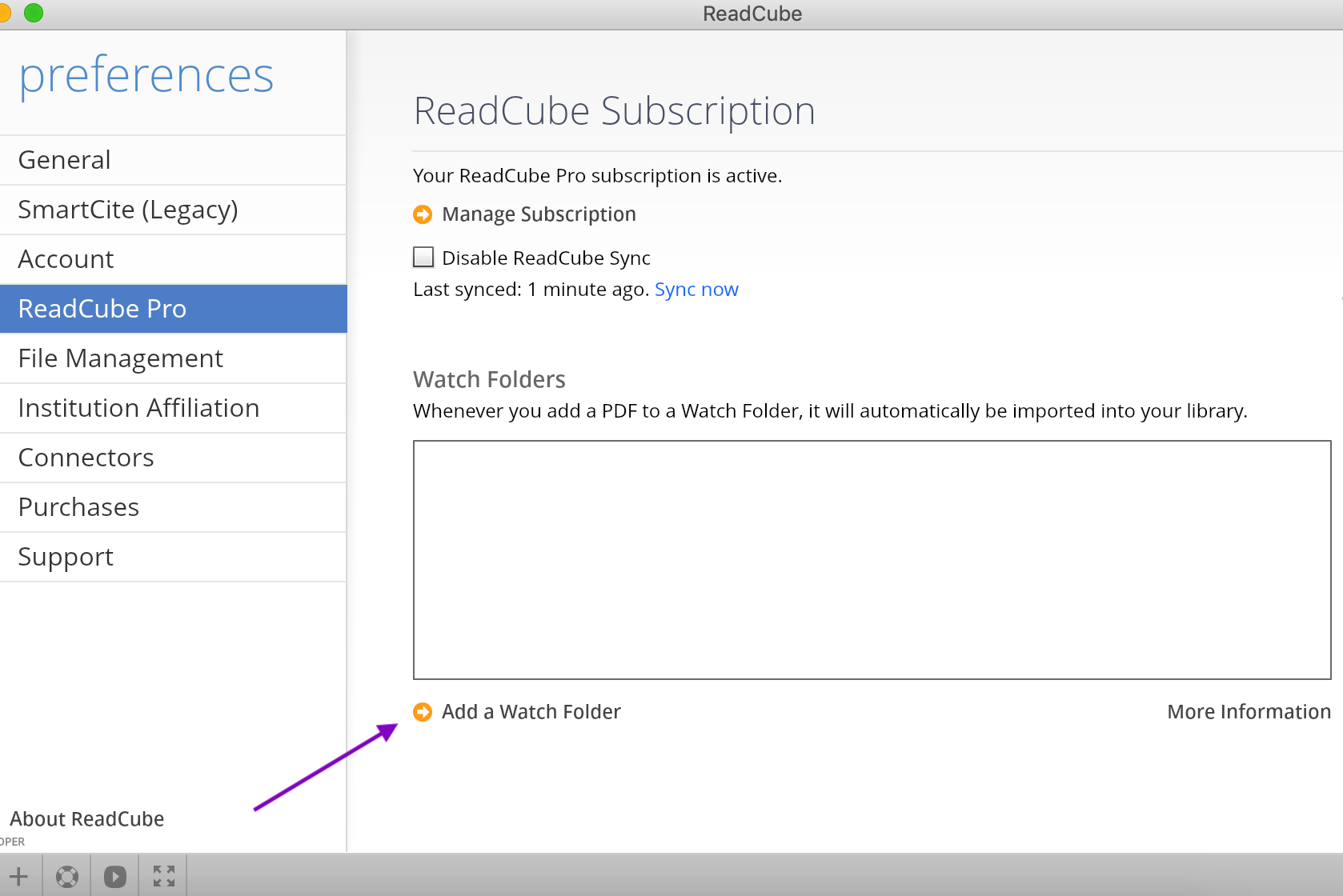 Readcube Desktop App