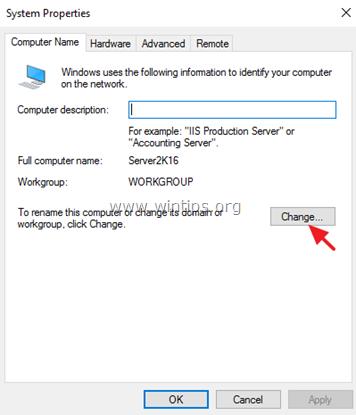 agregar servidor 2016 al dominio
