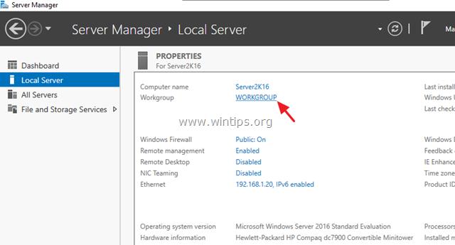 Migre Active Directory Server 2003 a Active Directory Server 2016