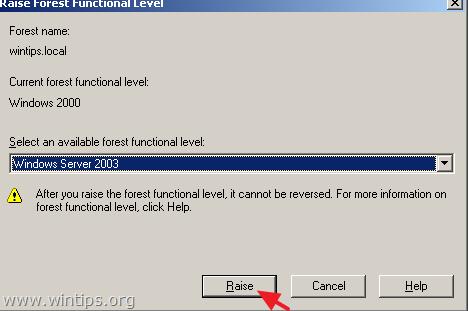 migrar el servidor de Active Directory 2003 a 2016