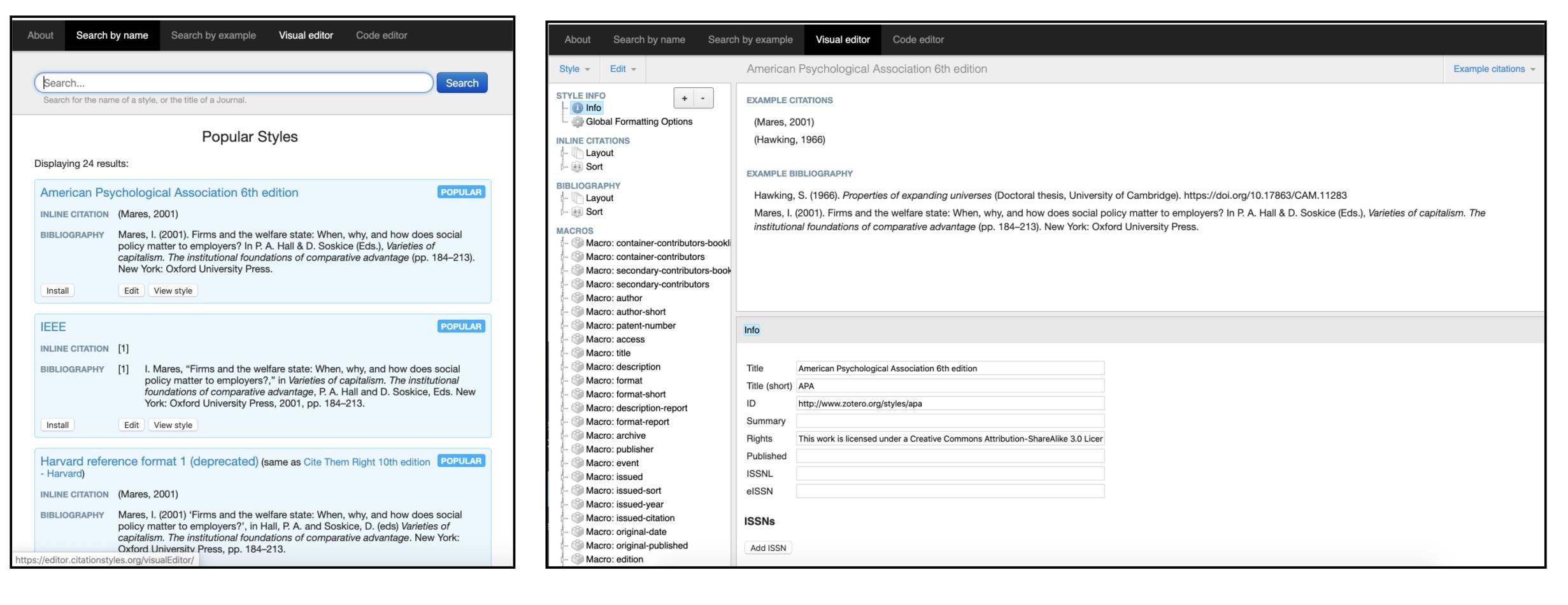 custom bibliography editor site for university
