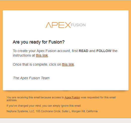 Apex Fusion Adding Another User Neptune Systems