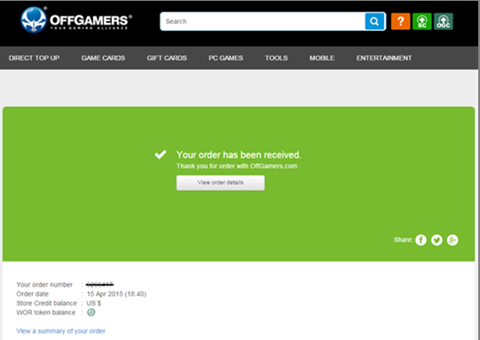Buying Guide] Garena Shells (PH) : OffGamers Support Center
