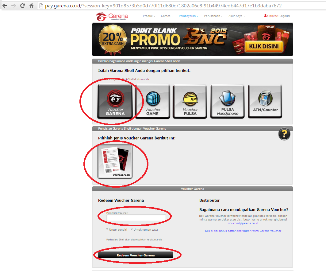 How To Redeem Garena Voucher ID : OffGamers Support Center