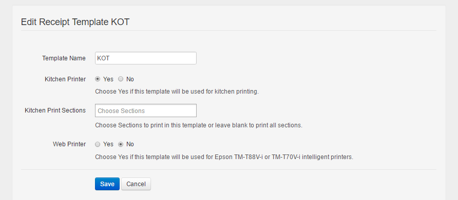 How To Edit A Receipt Template Shoptree