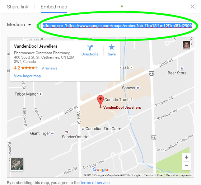 Map Search Override (Google Maps on Locations Page) : Thinkspace