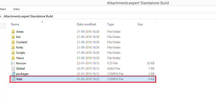 Add Salesforce Org Id in the Web config file of Attachments
