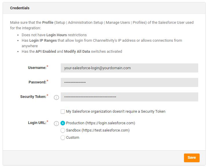 Salesforce Integration Setup Guide : Support Portal