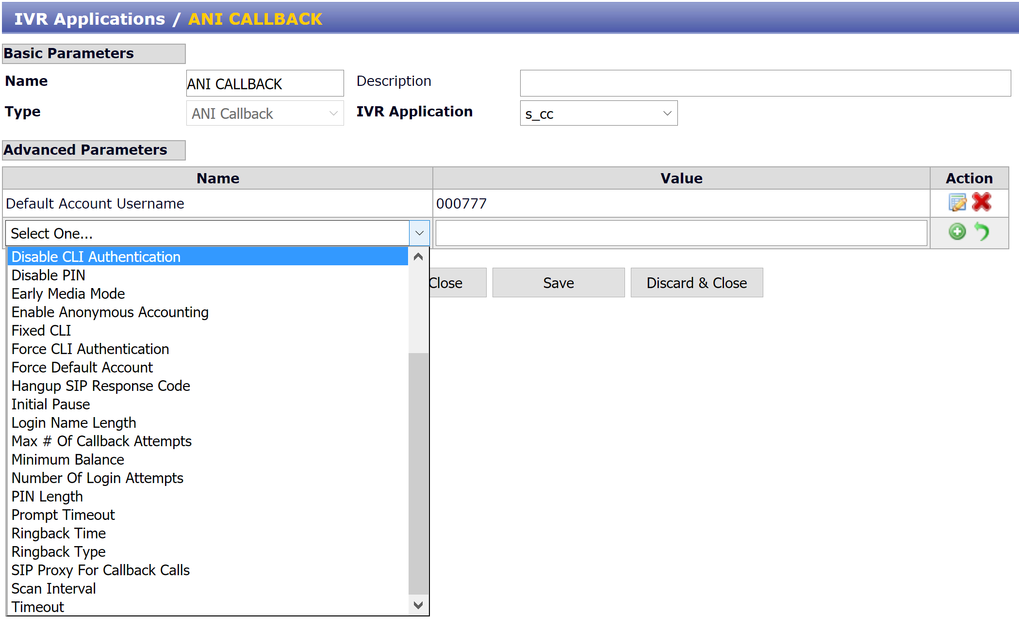 ANI Callback IVR application : Sippy Software, Inc
