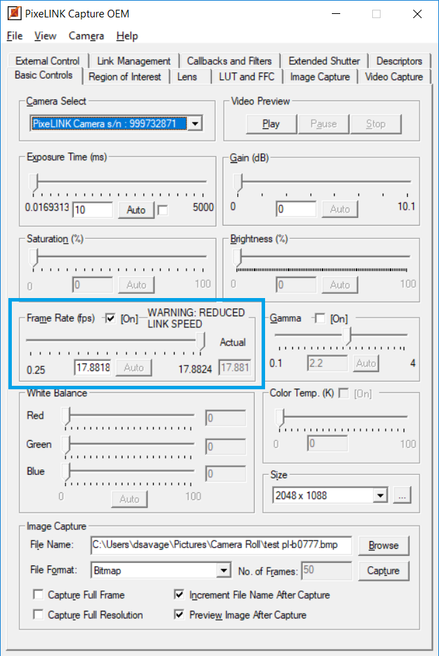 How to determine whether a USB 3 0 device is operating at