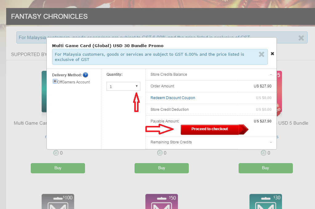 PlayMall – MGC Top up Guide : OffGamers Support Center