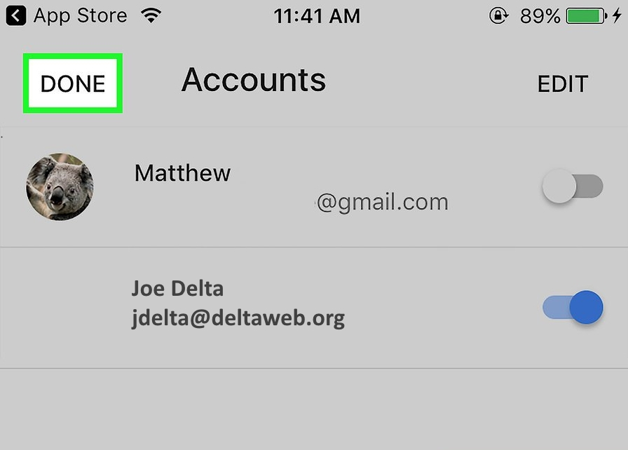 How-To Install GMail App on IPhone and IPad : DELTA IT Help Desk