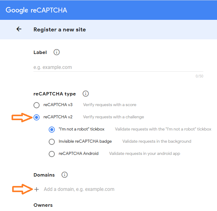 Setup Google reCAPTCHA for use across Shield : iControlWP