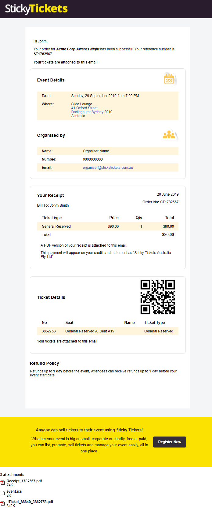 Frequently Asked Questions - Sticky Tickets