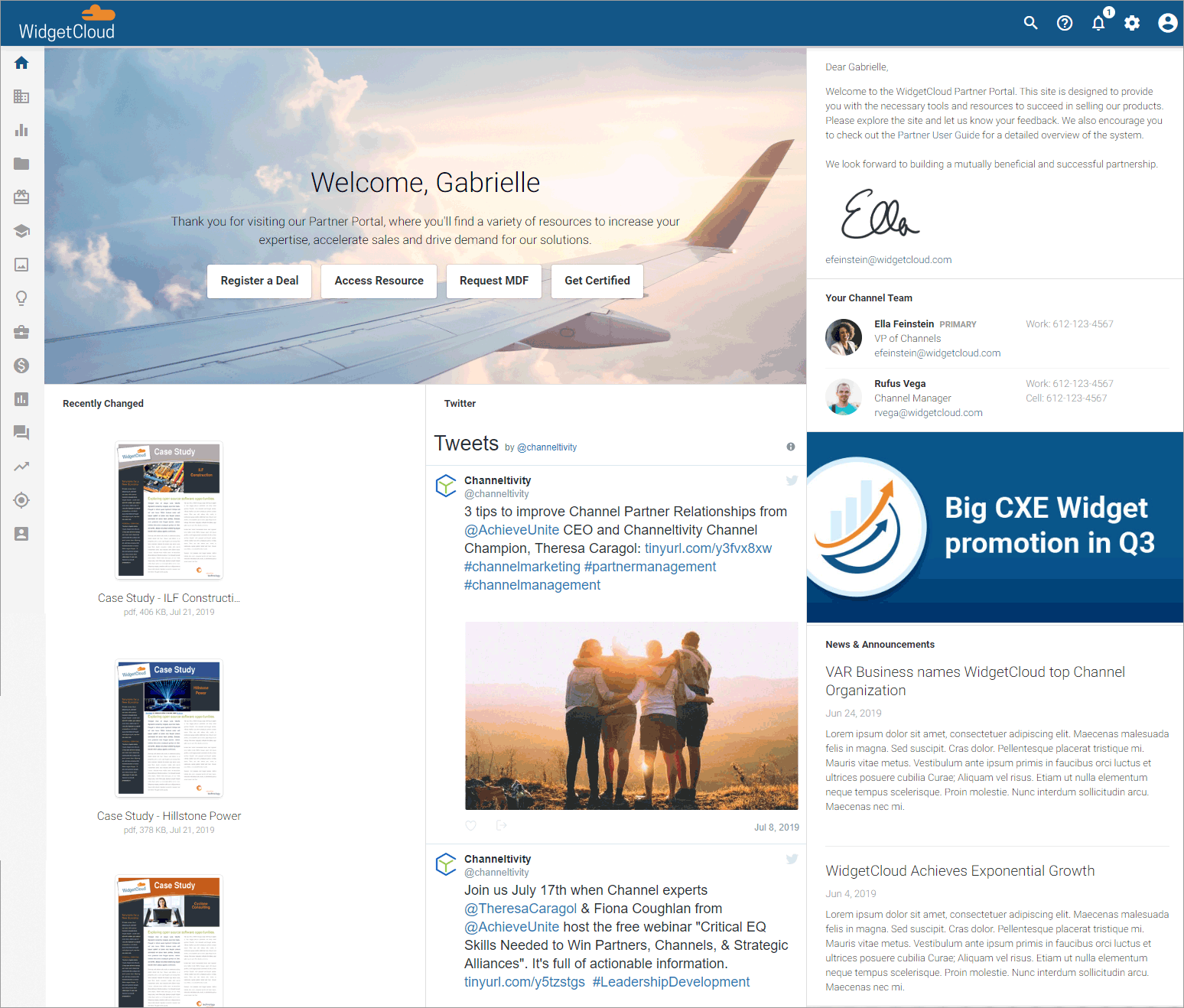 Best Practices for Designing your Partner Portal Home Page