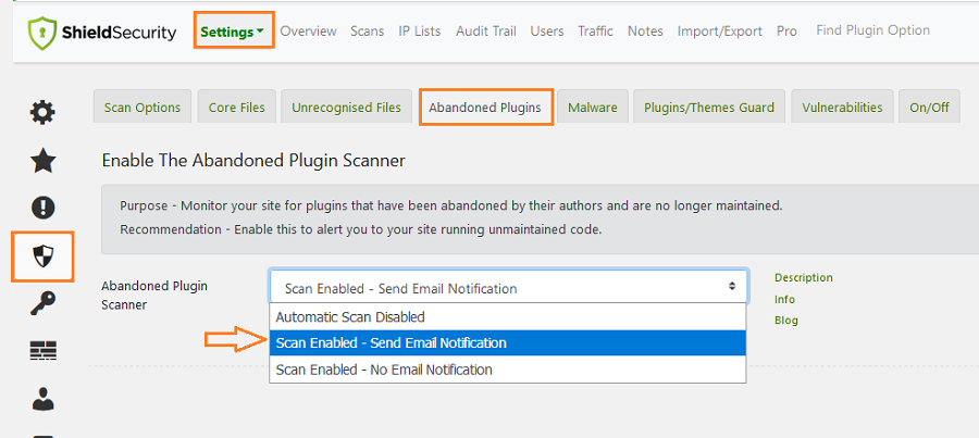 What is the Abandoned Plugin Scanner and how does it work