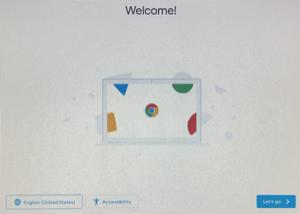 "Screenshot Press ""Let's go"" button on screen."