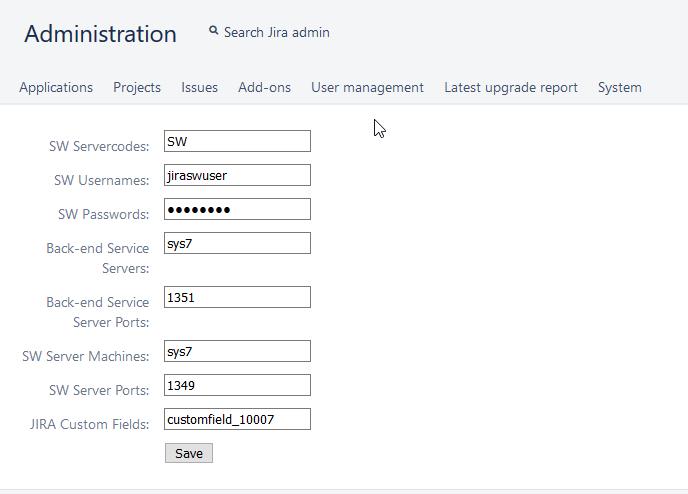 Installing the SystemWeaver Jira Integration :
