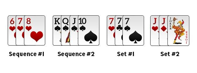 Image result for valid declaration in rummy