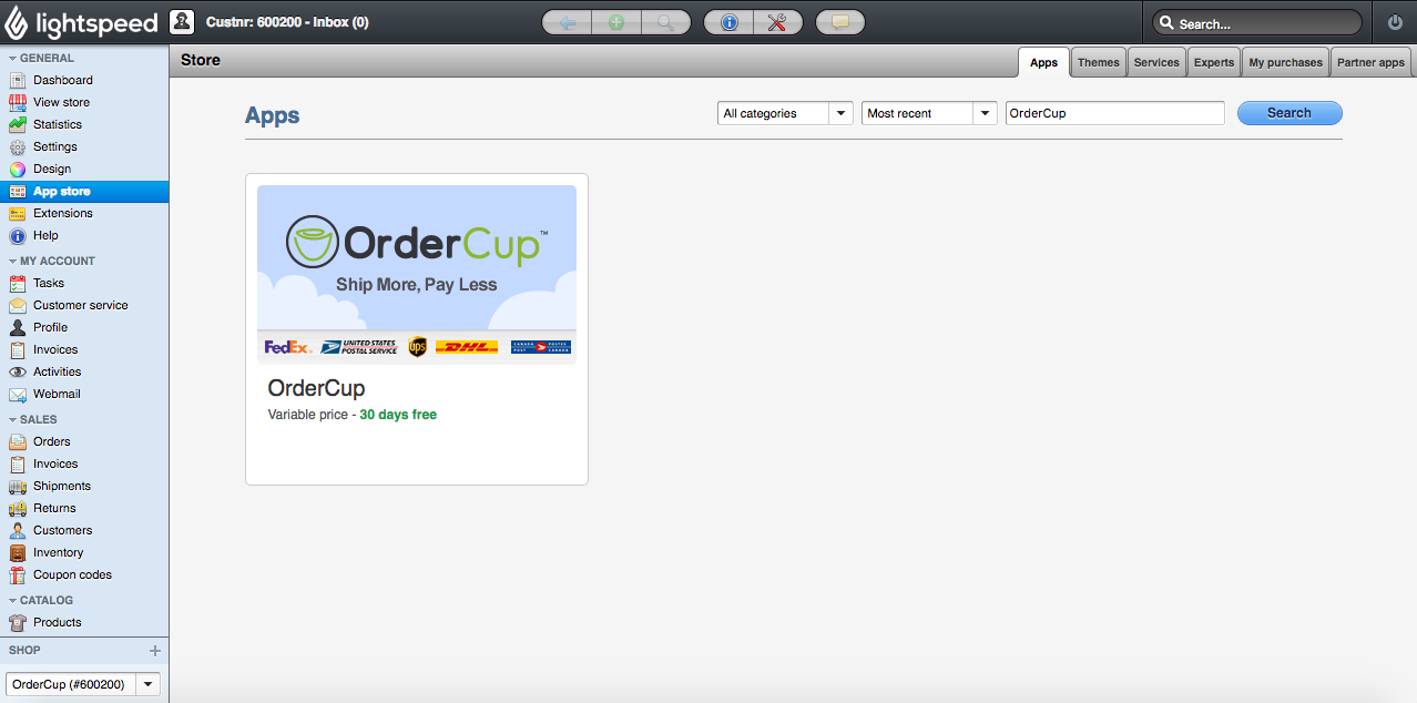 4844f3339ebc Setting up Lightspeed Store in OrderCup   Customer Support Portal
