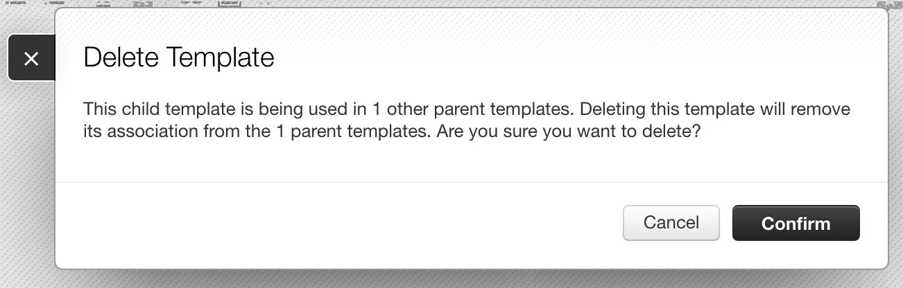 child template