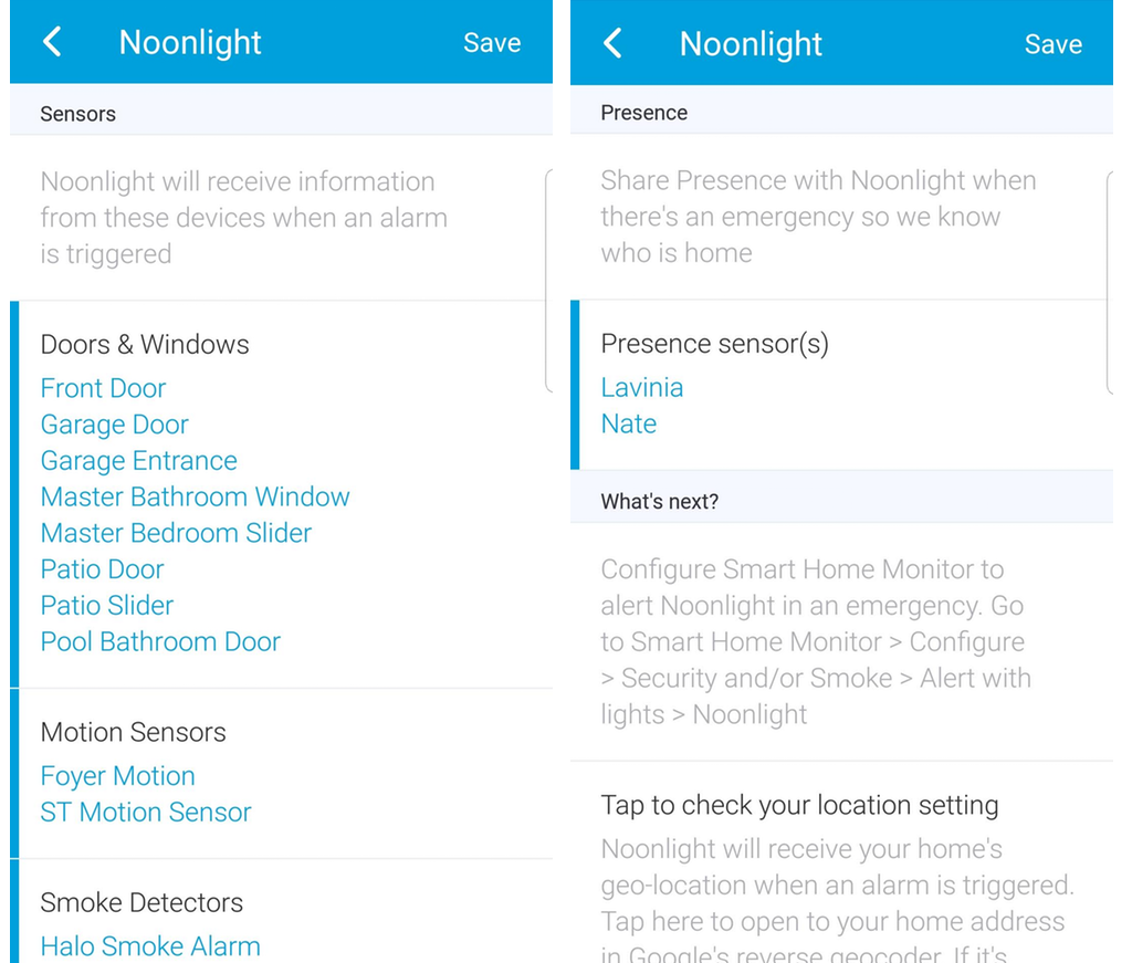 Set up Noonlight in SmartThings : Konnected Help & Support