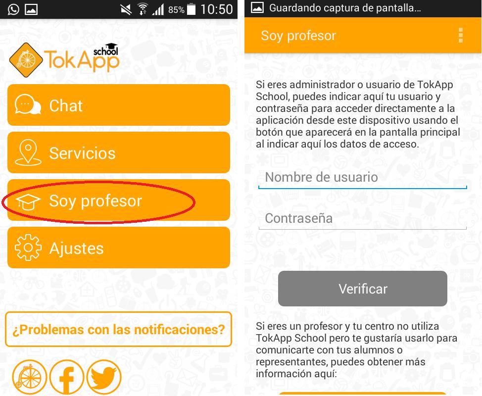 acceder a TokApp