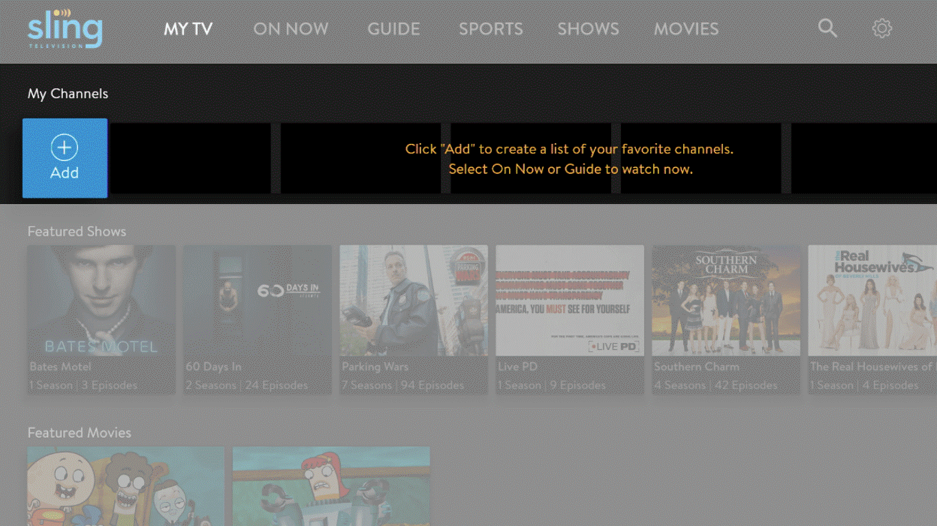 Sling TV | How to use My TV on Sling TV