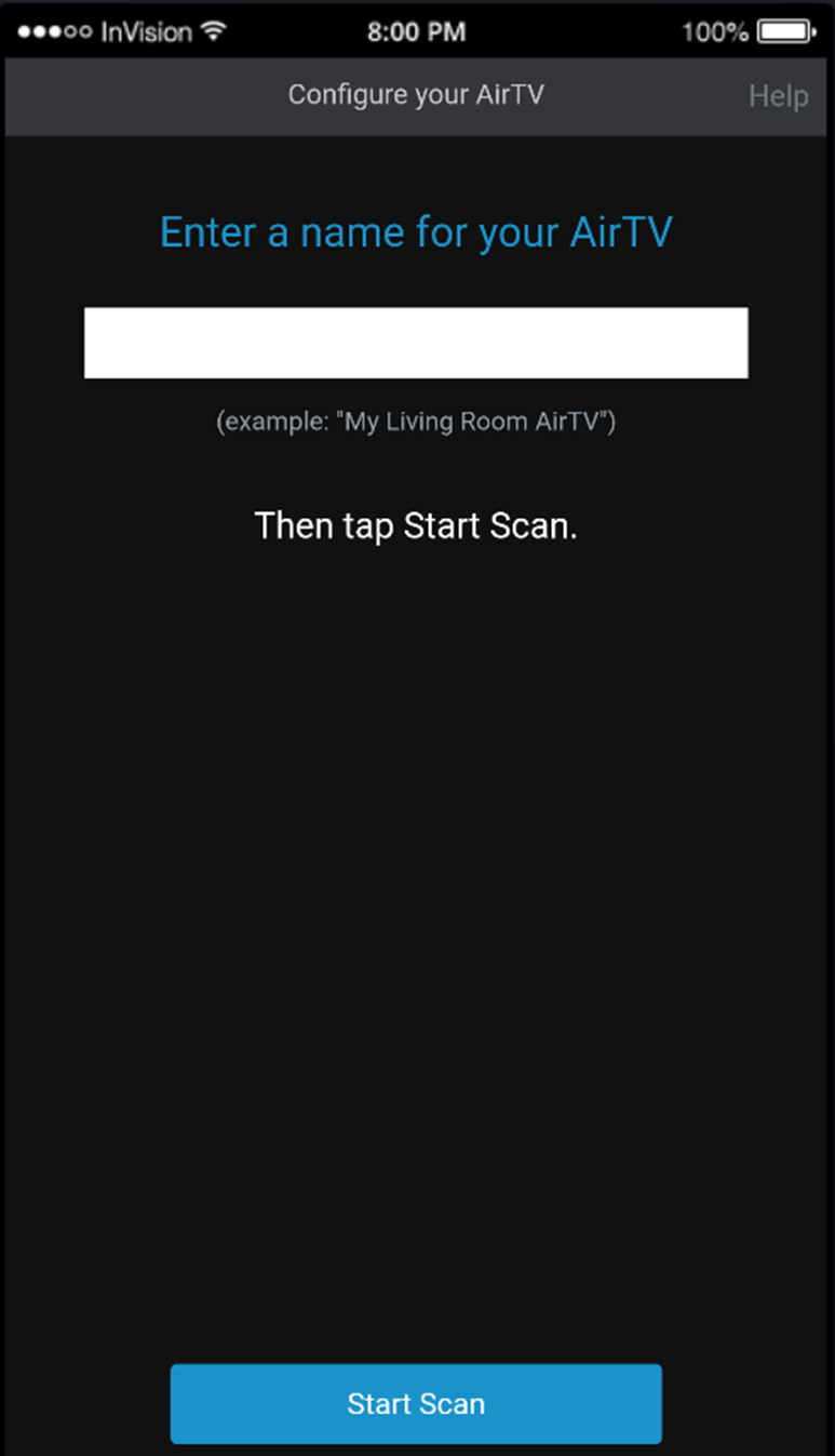 Set up your AirTV