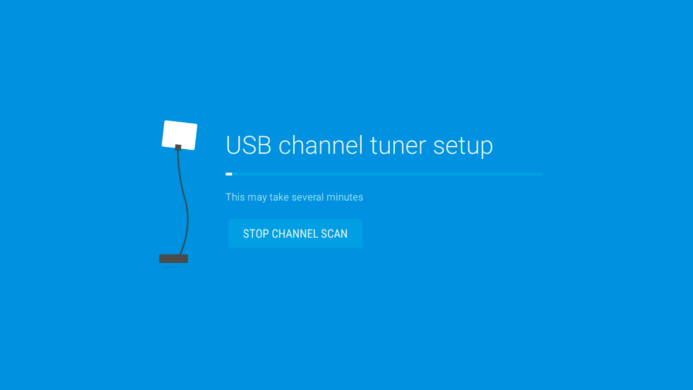 Scan for local channels on the AirTV Player